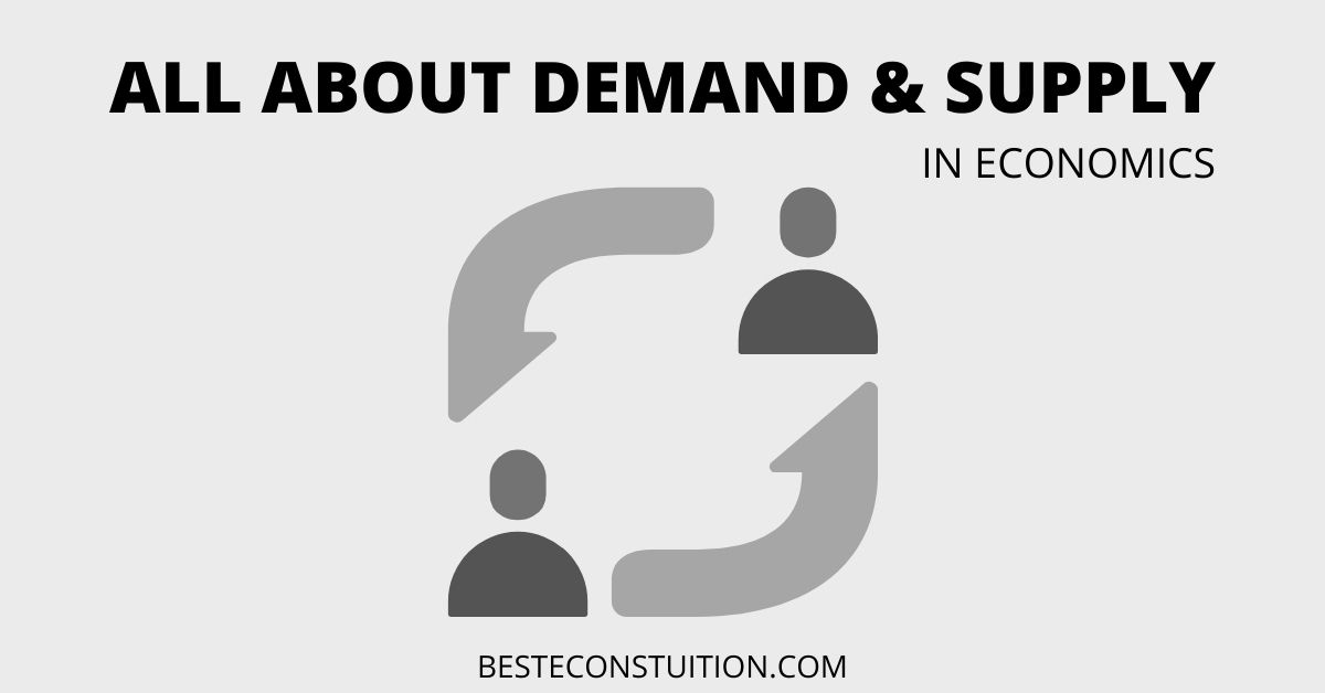 All About Demand & Supply